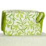 Knitter's Pride Hand Block Printed Fabric bags - Joy - Green Floral - Large (2)