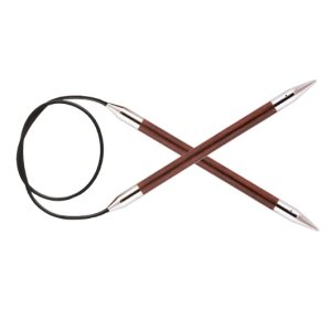 "Knitter's Pride Royale Fixed Circular Needles - US 10.75 (7.0mm) - 32"" Needles"