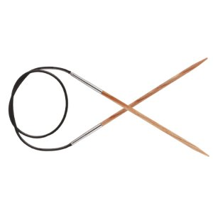 "Knitter's Pride Naturalz Fixed Circular Needles - US 11 (8.0mm) - 24"" Needles"