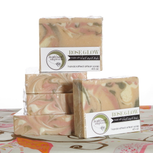 Black Rock Mud Company Black Rock Mud Products - Black Rock Mud Soap - Rose Glow