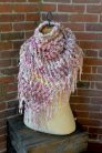 Knit Collage Patterns - Cozy Cast Away Wrap - PDF DOWNLOAD