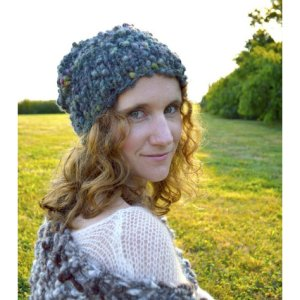Knit Collage Patterns - Perfect Slouch Hat - PDF DOWNLOAD photo