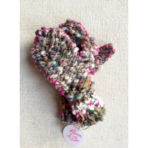 Knit Collage Patterns - Snuggle Bear Mittens - PDF DOWNLOAD Pattern