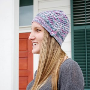 Unraveled Designs and Yarn Unraveled Designs Patterns - Frozen Hat - PDF Download Pattern