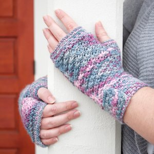 Unraveled Designs and Yarn Patterns - Unraveled Designs Patterns - Frozen Mitts and Cowl - PDF Download