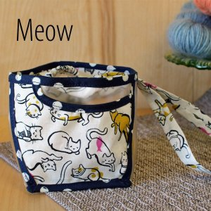 Chicken Boots Clear Wristlet - Meow