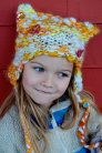 Knit Collage Patterns - Kitty Kids Hat - PDF DOWNLOAD