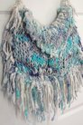 Knit Collage Knit Collage Patterns - Boho Fringe Bag - PDF DOWNLOAD