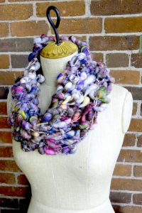 Knit Collage Patterns - Cocoon Pixie Cowl - PDF DOWNLOAD