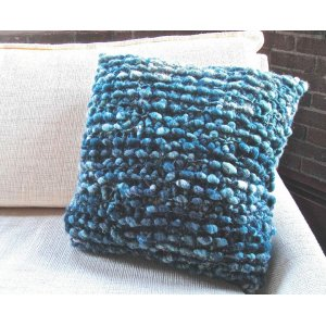 Knit Collage Patterns - Cozy Cocoon Pillow - PDF DOWNLOAD Pattern