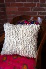 Knit Collage Knit Collage Patterns - Cozy Cocoon Pillow - PDF DOWNLOAD