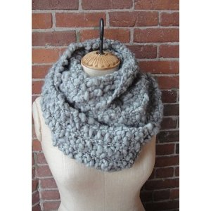 Knit Collage Patterns - Seed Stitch Cowl - PDF DOWNLOAD Pattern