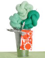 Jimmy Beans Wool Koigu Yarn Bouquets - Koigu Gradient Bouquet - Greens
