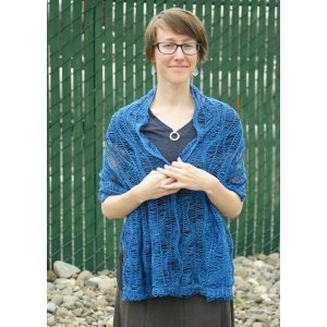 merryClusters Patterns - Deep Sea Shawl or Shrug - PDF DOWNLOAD Pattern