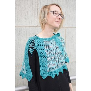 merryClusters Patterns - Ragnar Shoulder Cozy - PDF DOWNLOAD Pattern
