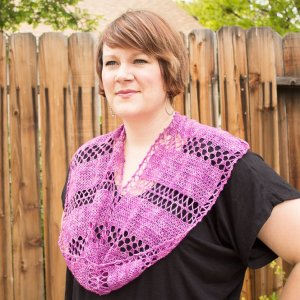 merryClusters Patterns - Twice as Fun Cowl - PDF DONWLOAD Pattern