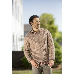 Universal Yarns Deluxe Cable Collection Patterns - Wesley Heights - PDF DOWNLOAD Pattern