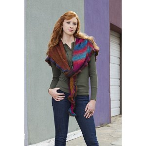 Universal Yarns Patterns - Classic Shades Book 2: City Neighborhoods Collection Patterns - Horizon Shawl - PDF DOWNLOAD