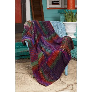 Universal Yarns Patterns - Classic Shades Book 2: City Neighborhoods Collection Patterns - Mojave River Blanket - PDF DOWNLOAD
