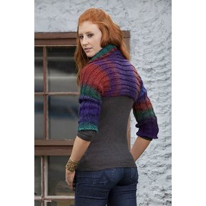 Universal Yarns Patterns - Classic Shades Book 2: City Neighborhoods Collection Patterns - Night Flight Shrug - PDF DOWNLOAD