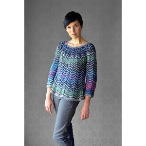 Universal Yarns Classic Shades Book 4: Studio Shots Collection Patterns - Ripple Effect - PDF DOWNLOAD Pattern