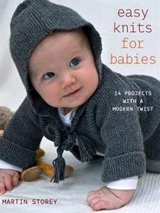 Martin Storey Pattern Books - Easy Knits For Babies