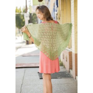 Universal Yarns Contrarian Shawls: Book 1 Patterns - Duality - PDF DOWNLOAD Pattern