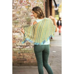 Universal Yarns Contrarian Shawls: Book 1 Patterns - Polygon - PDF DOWNLOAD Pattern