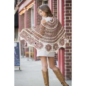 Universal Yarns Contrarian Shawls: Book 1 Patterns - Southwest Suns - PDF DOWNLOAD Pattern