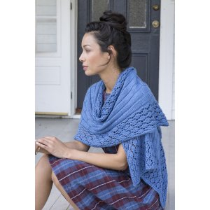 Berroco Portfolio Vol. 3 Patterns - Vinalhaven Wrap - PDF DOWNLOAD Pattern