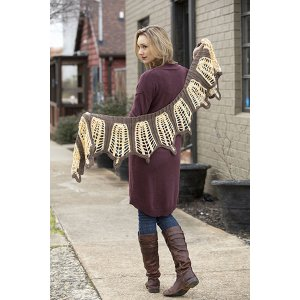 Universal Yarns Contrarian Shawls: Book 2 Patterns - Eurimedia - PDF DOWNLOAD Pattern
