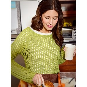 Spud and Chloe Sweater Snowflake Pullover Kit - Women's Pullovers