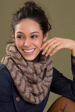 Tahki Zona Serenity Cowl Kit - Scarf and Shawls