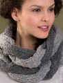 Tahki Big Montana Peaceful Cowl Kit