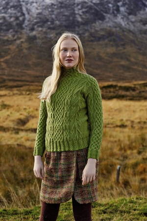 Rowan Creative Focus Worsted Brora Pullover Kit - Women's Pullovers