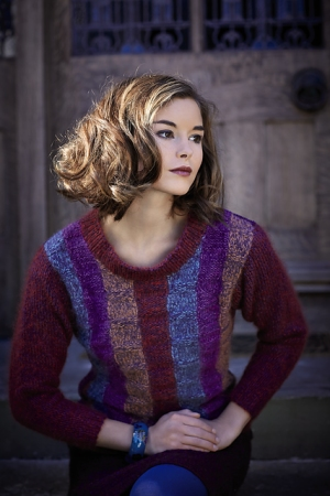 Rowan Chenille/Kidsilk Haze Martina Pullover Kit - Women's Pullovers