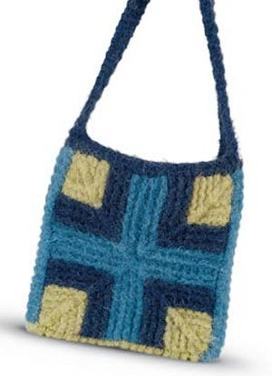 Blue Sky Fibers Adult Clothing Patterns Felted Messenger Bag