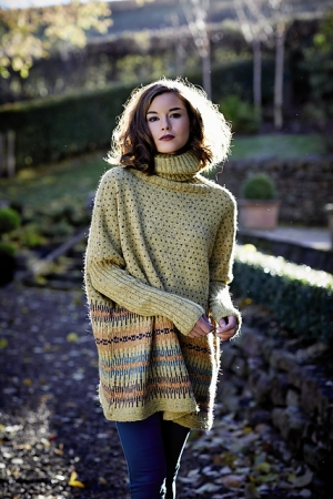 Rowan Felted Tweed Franziska Pullover Kit - Women's Pullovers