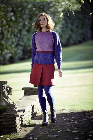 Rowan Felted Tweed Aran Heike Pullover Kit - Women's Pullovers