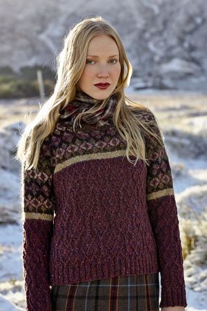 Rowan Tweed/Frost/Colorspun Ness Pullover Kit - Women's Pullovers