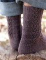 Swans Island Natural Colors Fingering Woodcutter Socks Kit