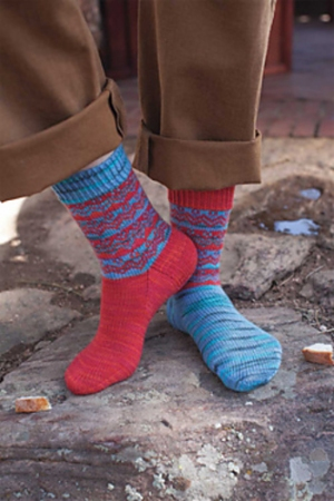 Lorna's Laces Shepherd Sock Hansel & Gretel Socks Kit - Socks