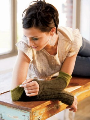 Blue Sky Fibers Adult Clothing Patterns - Arm Warmers Pattern