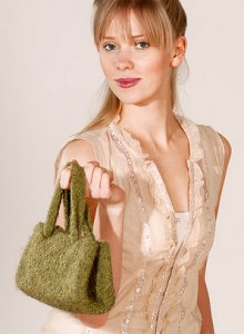 Blue Sky Fibers Felted Clutch Kit - Women's Accessories