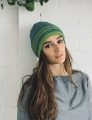 Rowan Softknit Cotton Striped Hat