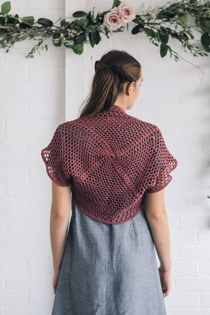 Rowan Softknit Cotton Shrug Kit - Crochet for Adults