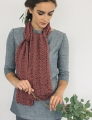 Rowan Softknit Cotton Chevron Scarf Kit