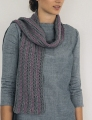Rowan Handknit Cotton Striped Scarf Kit