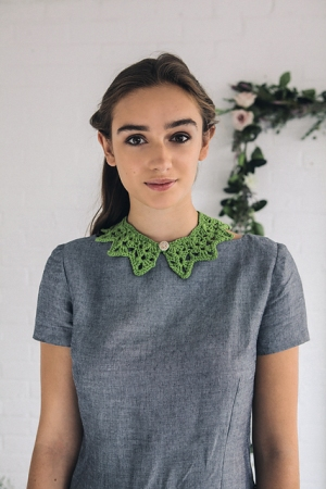 Rowan Softknit Cotton Collar Kit - Crochet for Adults