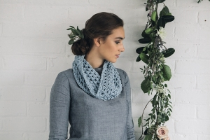 Rowan All Seasons Cotton Chunky Mesh Cowl Kit - Crochet for Adults